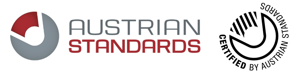 Austrian Standards Logo Gütesiegel