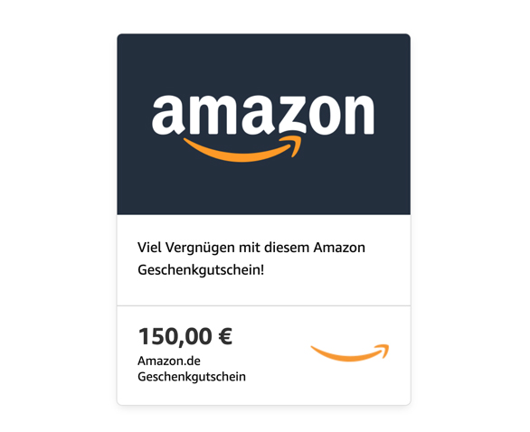 amazon gutschein Aktion Newsletter